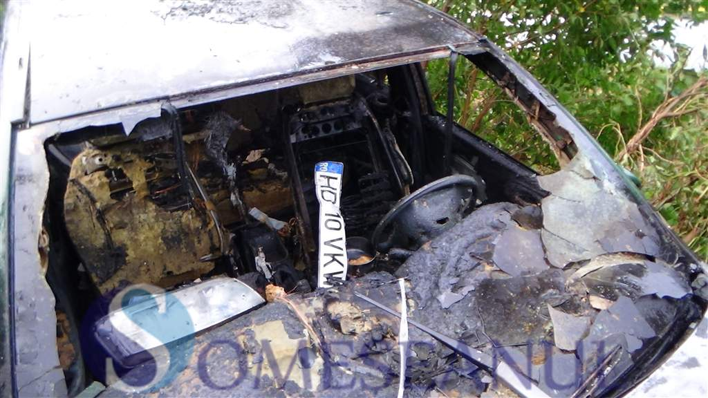someseanul-accident masina incendiata dej (1)