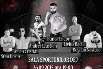 Gală de Kickbox și MMA la Dej – Cupa Firekick și Suprem Night Fight în Sala Sporturilor din Dej