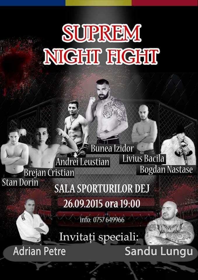 Afis Suprem Night Fight Dej