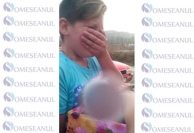 Reactia unui copil din Dej cand primeste cadou un catelus