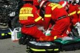 Grav accident în Șieuț, soldat cu cinci victime. A fost solicitat elicopterul SMURD