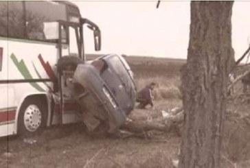 VIDEO – Doi morți și șapte răniți într-un accident pe DN 1