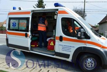 Copil de 8 luni rănit într-un accident petrecut la Răscruci. Două autoturisme s-au ciocnit