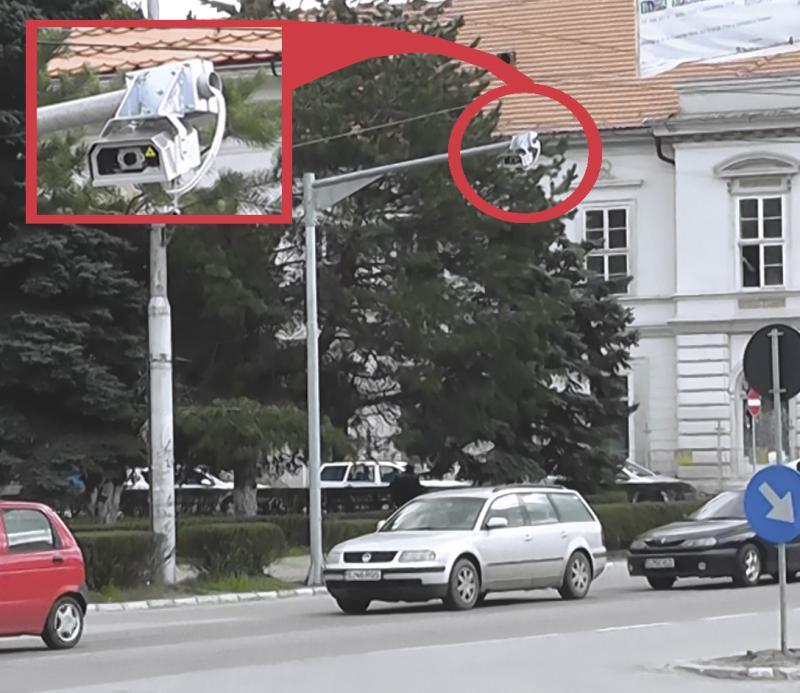 camere supraveghere trafic auto zalau