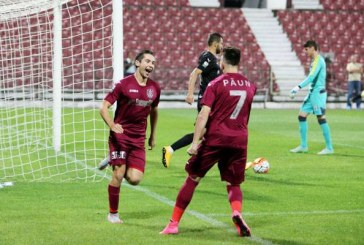 CFR Cluj – Astra Giurgiu, scor 1-1, în etapa 11 a Ligii 1
