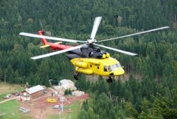 Accident aviatic în Harghita. Un elicopter s-a prabușit, pilotul a murit pe loc – VIDEO