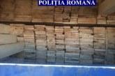 Material  lemnos în valoare de circa 18.000 de lei, confiscat în urma unui control