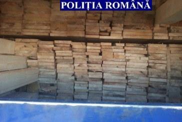 Transport ilicit de material lemnos, depistat de polițiștii Clujeni