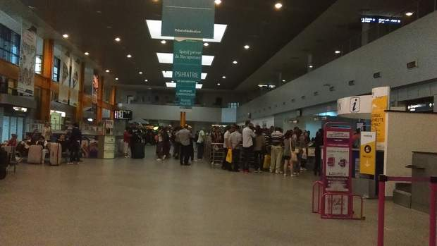 pasageri aeroport cluj