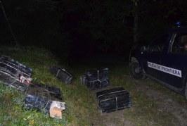 Minor din Maramureș, prins conducând o mașină încărcată cu țigări de contrabandă – VIDEO