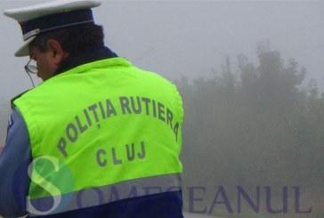 Bistrițean prins fără permis, de polițiștii dejeni