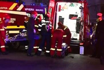 Explozie într-un bar din comuna bistrițeană Șanț. Două angajate au ajuns la spital