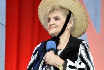 A murit cântăreața de muzică populară Lucreția Ciobanu
