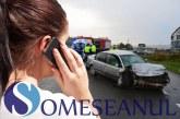 Trei persoane bănuite de comiterea unor înşelăciuni prin metoda accidentul, reţinute de poliţiştii bistriţeni