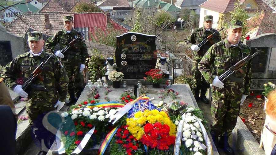 mormant eroul dejean Vasile Unguras