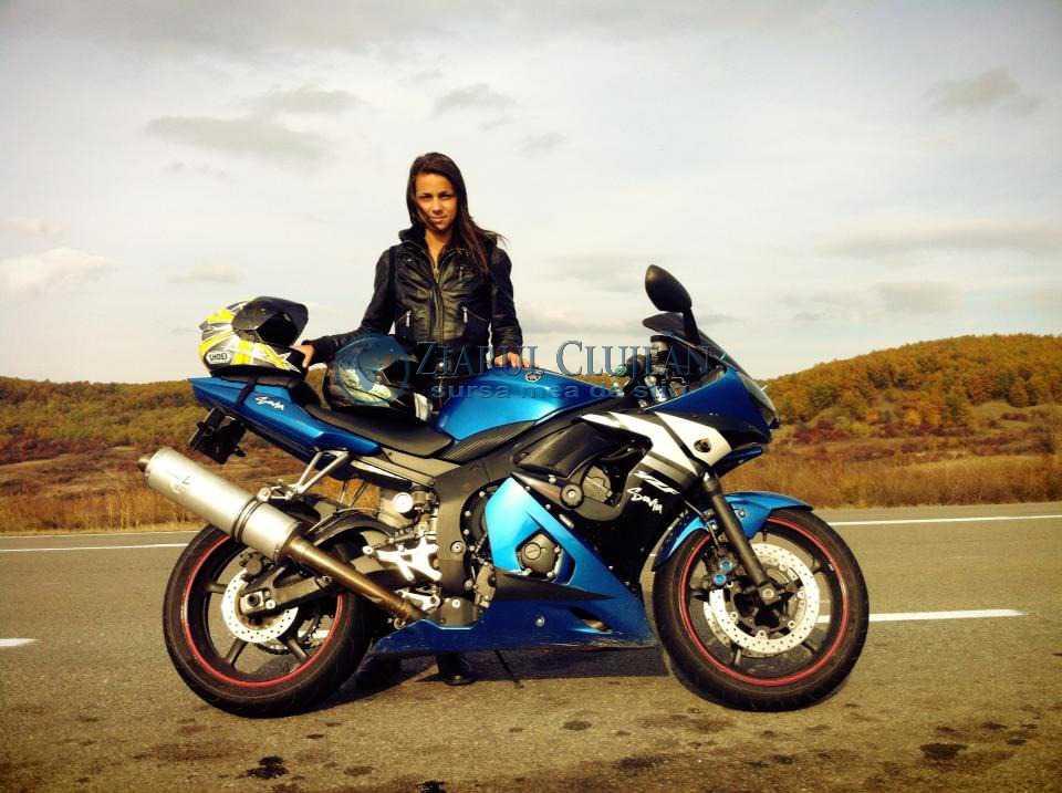 Sonia motocicleta Cluj