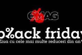 Black Friday la eMAG are loc în 18 noiembrie