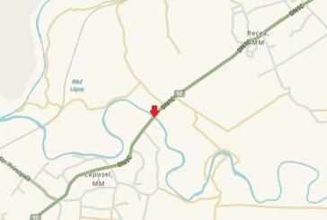 Capcane pentru șoferi pe drumul național 1C între Dej și Baia Mare