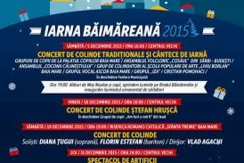 Iarna Băimăreană 2015 – Program plin de evenimente. Bradul băimărenilor se inaugurează sâmbătă