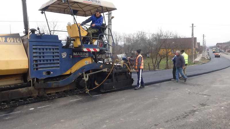 lucrari modernizare reabilitare strazi-drumuri dej