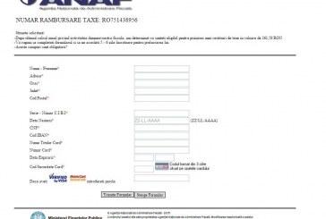 ANAF avertizează contribuabilii de existența unui site fals, care solicită date personale