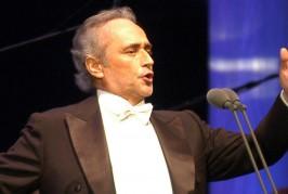 Concert unic pregătit de Jose Carreras pentru clujeni