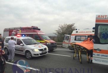 Grav accident în Șomcuta Mare. Două persoane au rămas încarcerate