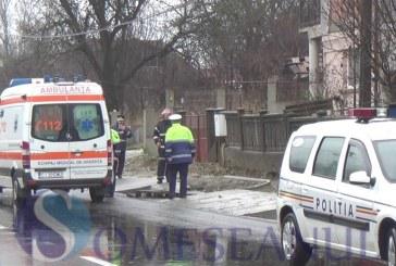 Băimărean cercetat de polițiști după ce a accidentat o persoană după care a părăsit locul accidentului