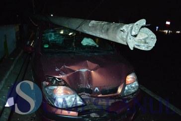 Aluniș: Accident provocat de un șofer băut