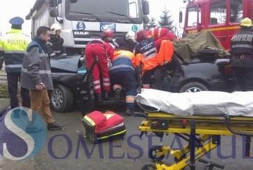 Bărbat din Județul Maramureș implicat într-un accident grav la Nojorid