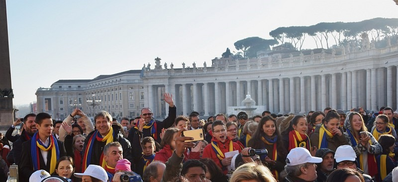 colindatori clujeni la vatican-3