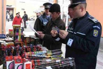 Peste 15.000 de articole pirotehnice, confiscate de polițiștii clujeni