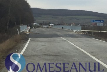 În curând se redeschide podul de la Bunești. Lucrările de reabilitare sunt aproape gata – FOTO