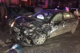 Accident cu șase mașini la Cluj. Un șofer băut la volan și fără permis a făcut prăpăd într-o parcare