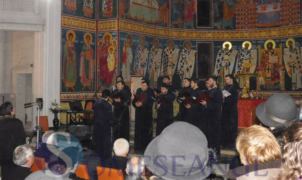 someseanul-concert colinde corala armonia biserica sfanta treime dej
