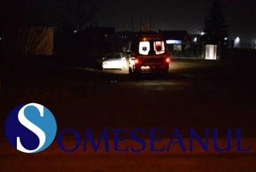 Mașină lovită de tren la Ilva Mică. Un clujean s-a salvat în ultima clipă