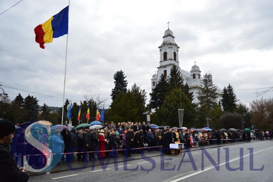 Paradă militară la Gherla, de Ziua Națională a României –  GALERIE FOTO/VIDEO