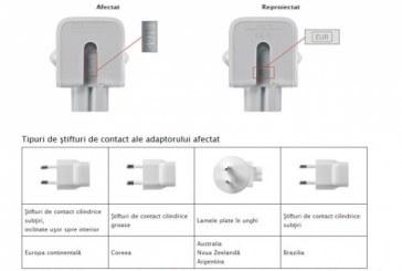 """Apple cere utilizatorilor de iPhone si iPad să returneze adaptoarele de priză: """"Exista riscul unui șoc electric"""""""