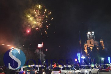 REVELION 2016: Foc de artificii în centrul municipiului Gherla – FOTO/VIDEO