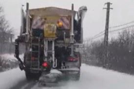 Pregătiri de iarnă la Cluj. Consiliul Județean a aprobat Planul operativ de intervenție