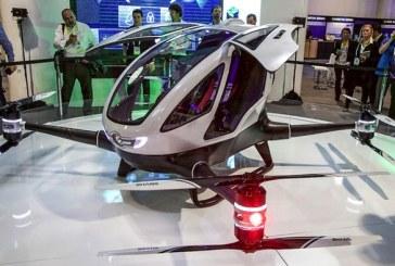 Prima dronă care transportă oameni, a fost inventată – VIDEO