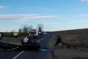 Accident mortal surprins de camera de bord. Fiul unui preot a murit – VIDEO