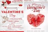 """CONCURS: Someșeanul.ro și """"Escape"""" fac cinste de Ziua Îndrăgostiților"""