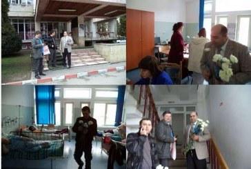 Acțiune ALDE Dej: Flori de 8 martie pentru pacientele Spitalului Municipal Dej – FOTO