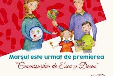 """Anda Dimitriu, invitată specială la """"Marșul pentru Viață"""" de la Dej"""
