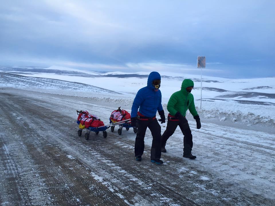 Andrei Rosu Vlad Tanase maraton Polul Nord