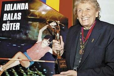S-a stins din viață Iolanda Balaș, o legendă a sportului românesc