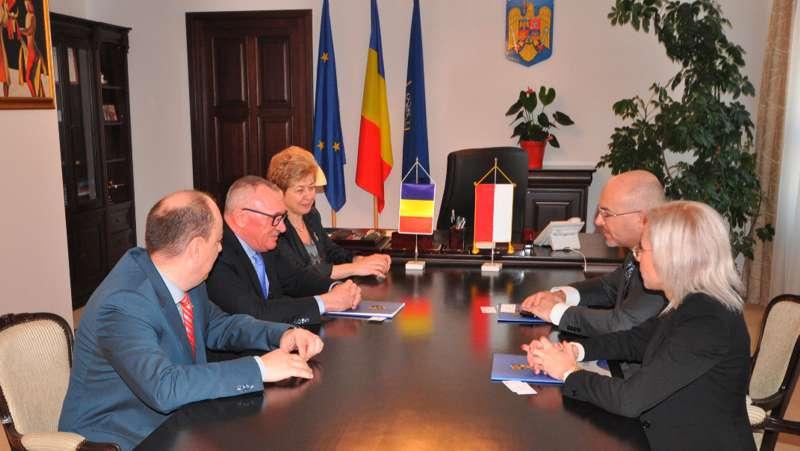 ambasador polonia vizita cj cluj