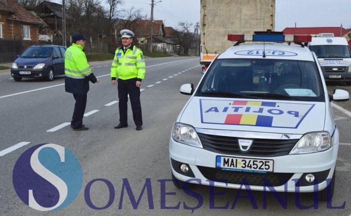 Polițiștii dejeni au acționat ieri pentru prevenirea accidentelor rutiere
