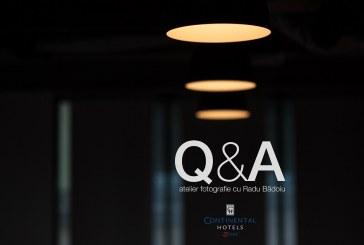 Atelier Q&A la Bistrița, pentru pasionații de fotografie
